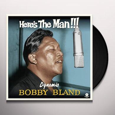 HERE'S THE MAN DYNAMIC BOBBY BLAND (BONUS TRACKS) Vinyl Record