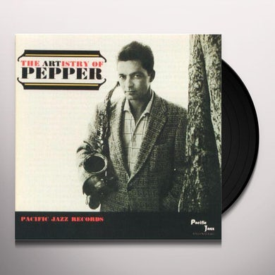 Art Pepper ARTISTRY OF PEPPER Vinyl Record - Limited Edition, 180 Gram Pressing, Remastered, Spain Release