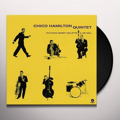Chico Hamilton QUINTET (FEAT BUDDY COLLETTE & JIM HALL) Vinyl Record - Limited Edition