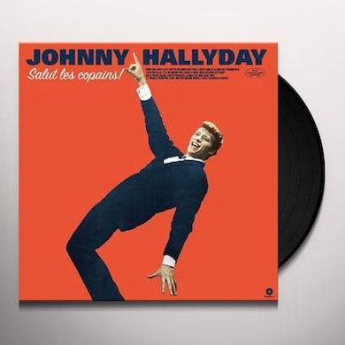 Johnny Hallyday SALUT LES COPAINS Vinyl Record - Limited Edition, 180 Gram Pressing, Virgin Vinyl, Spain Release