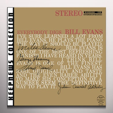 EVERYBODY DIGS BILL EVANS Vinyl Record - Colored Vinyl, Limited Edition, 180 Gram Pressing, Spain Release