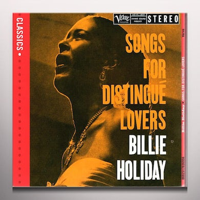 Billie Holiday SONGS FOR DISTINGUE LOVERS (BONUS TRACKS) Vinyl Record - Colored Vinyl