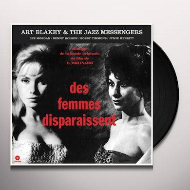 DES FEMMES DISPARAISSENT Vinyl Record - Spain Release