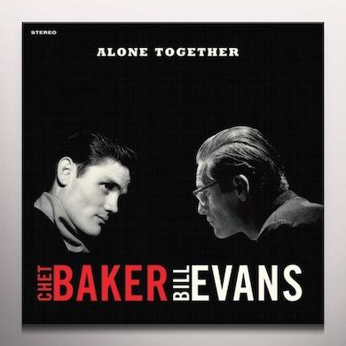 Chet Baker ALONE TOGETHER Vinyl Record - Colored Vinyl, 180 Gram Pressing, Red Vinyl, Spain Release