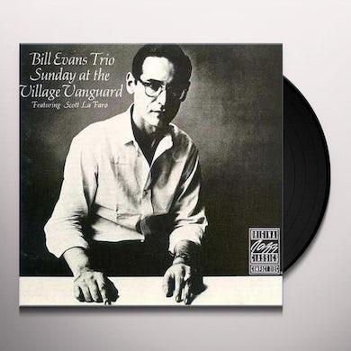 Bill Evans Trio SUNDAY AT THE VILLAGE VANGUARD Vinyl Record