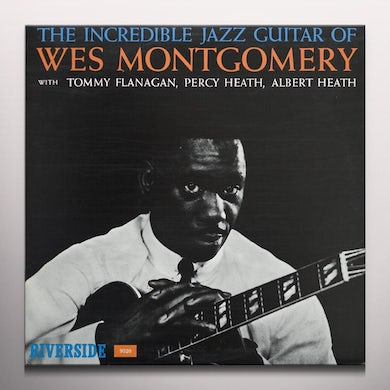 INCREDIBLE JAZZ GUITAR OF WES MONTGOMERY Vinyl Record - Colored Vinyl