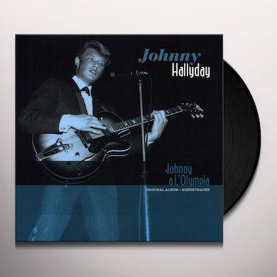 Johnny Hallyday A L'OLYMPIA (BONUS TRACKS) Vinyl Record - 180 Gram Pressing, Spain Release