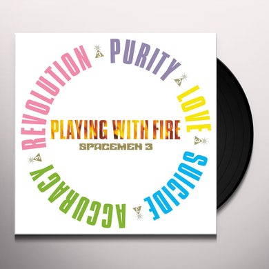Spacemen 3 PLAYING WITH FIRE Vinyl Record
