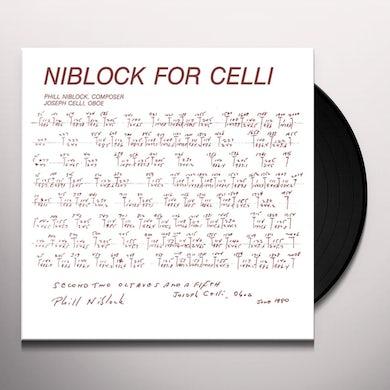 Phill Niblock NIBLOCK FOR CELLI / CELLI PLAYS NIBLOCK Vinyl Record