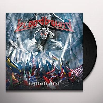 Bloodbound BLOODHEADS UNITED Vinyl Record