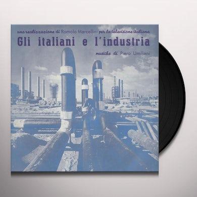 Piero Umiliani GLI ITALIANI E L'INDUSTRIA / Original Soundtrack Vinyl Record