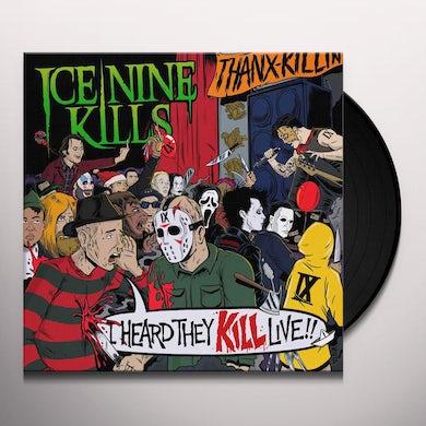 ICE NINE KILLS I Heard They KILL Live (2 LP) (Neon Green Marble) Vinyl Record