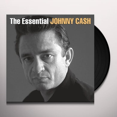 ESSENTIAL JOHNNY CASH - Double LP Vinyl Record