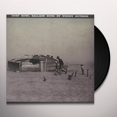 Woody Guthrie DUST BOWL BALLADS Vinyl Record