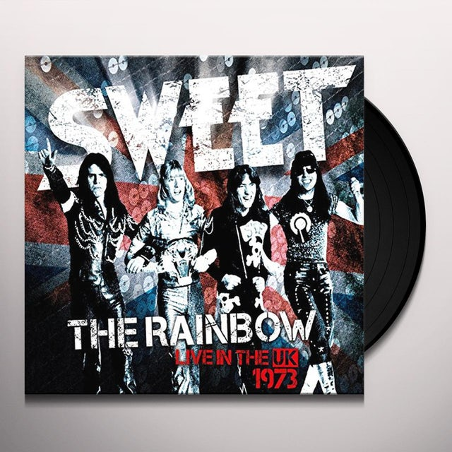 RAINBOW (SWEET LIVE IN THE UK) (NEW VINYL EDITION) Vinyl Record