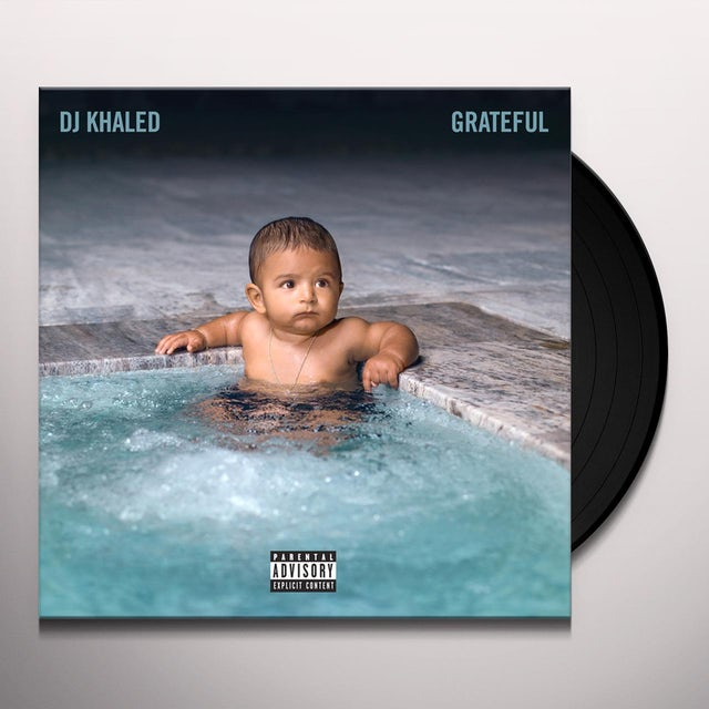 DJ Khaled GRATEFUL Vinyl Record