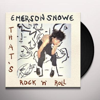 THAT'S ROCK N ROLL Vinyl Record