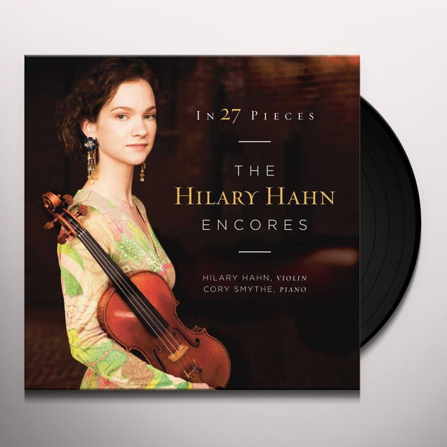 IN 27 PIECES - THE HILARY HAHN ENCORES Vinyl Record