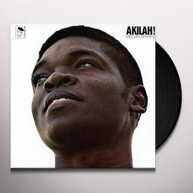 Melvin Sparks AKILAH Vinyl Record - UK Release