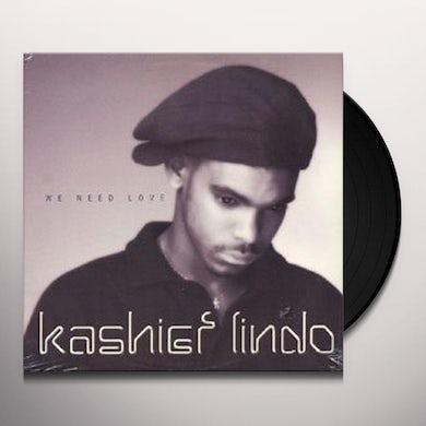 Kashief Lindo WE NEED LOVE Vinyl Record