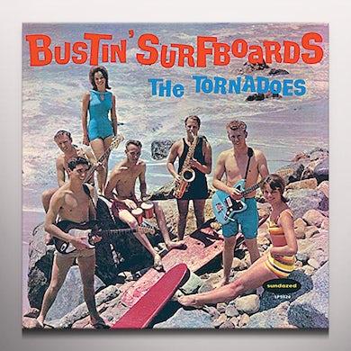 Tornadoes BUSTIN' SURFBOARDS Vinyl Record