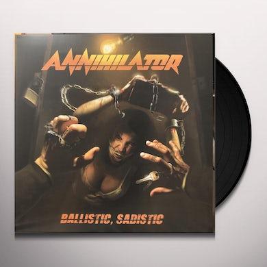 Annihilator Ballistic sadistic Vinyl Record