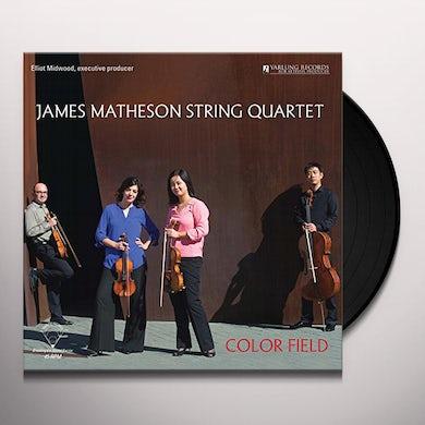 Color Field Quartet JAMES MATHESON STRING QUARTET Vinyl Record