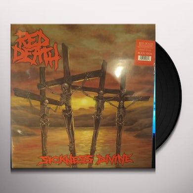 Red Death SICKNESS DIVINE Vinyl Record