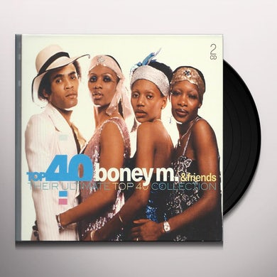 Boney M & Friends THEIR ULTIMATE COLLECTION Vinyl Record