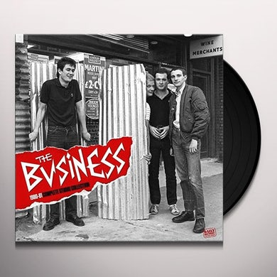 The Business 1980-1981 COMPLETE STUDIO COLLECTION Vinyl Record