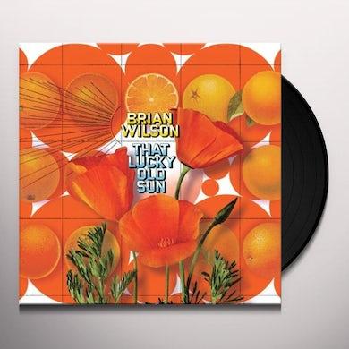 Brian Wilson THAT LUCKY OLD SUN Vinyl Record