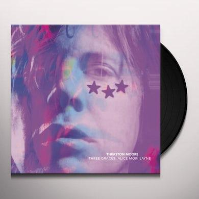 Thurston Moore THREE GRACES / LEAVE ME ALONE Vinyl Record