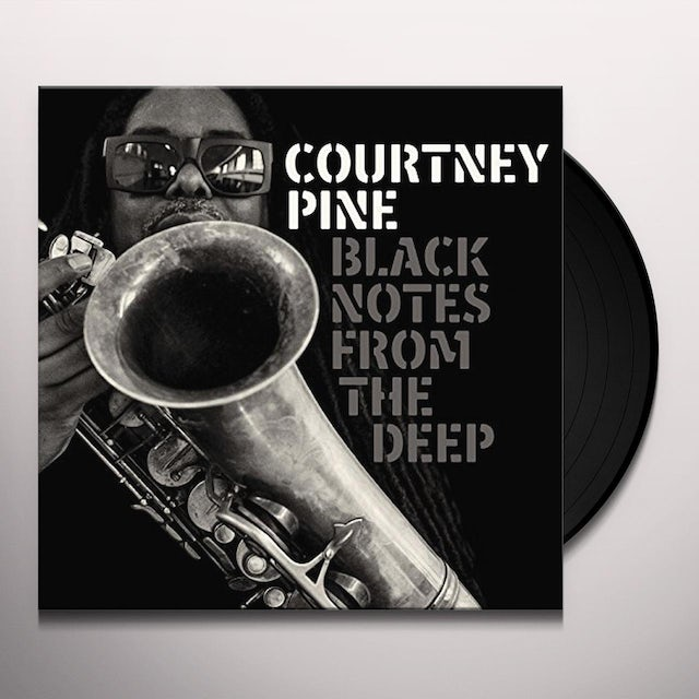Courtney Pine BLACK NOTES FROM THE DEEP Vinyl Record