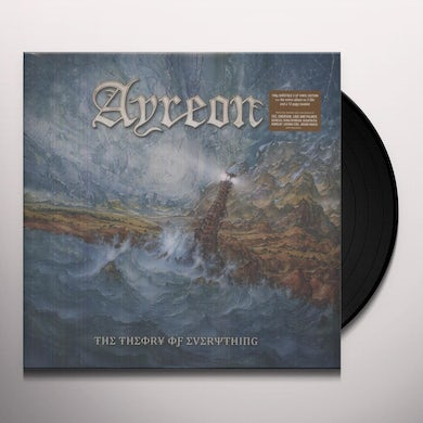 Ayreon THEORY OF EVERYTHING Vinyl Record - UK Release