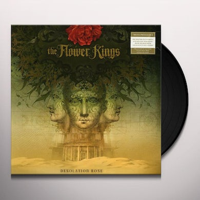 The Flower Kings DESOLATION ROSE Vinyl Record