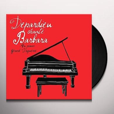 Gerard Depardieu DEPARDIEU CHANTE BARBARA Vinyl Record