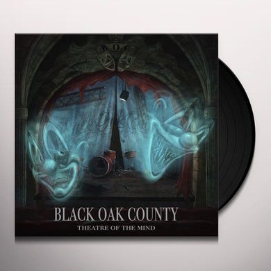 Black Oak County THEATRE OF THE MIND Vinyl Record