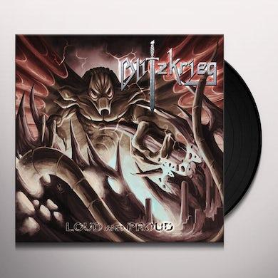 Blitzkrieg LOUD & PROUD Vinyl Record