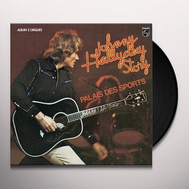 Johnny Hallyday PALAIS DES SPORTS Vinyl Record