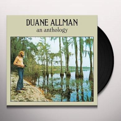 Duane Allman ANTHOLOGY Vinyl Record - UK Release