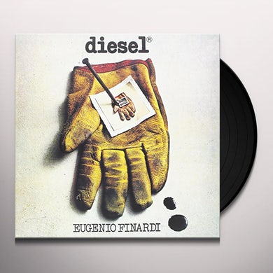 Eugenio Finardi DIESEL Vinyl Record