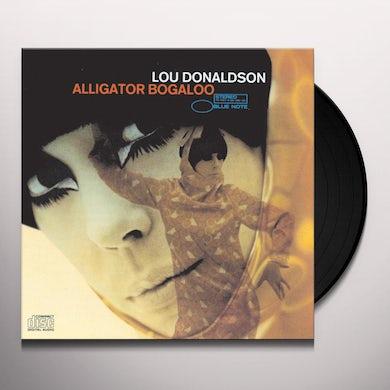 Lou Donaldson ALLIGATOR BOGALOO Vinyl Record