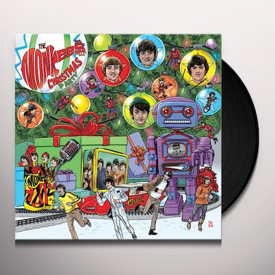 The Monkees CHRISTMAS PARTY Vinyl Record