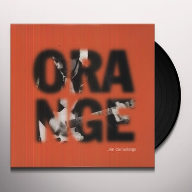 Jim Campilongo ORANGE Vinyl Record