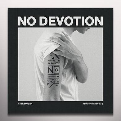 No Devotion STAY / EYESHADOW (WHITE VINYL) Vinyl Record