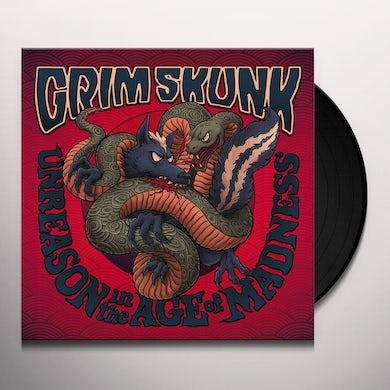 GRIMSKUNK UNREASON IN THE AGE OF MADNESS Vinyl Record