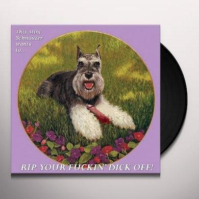 Schnauzer / Punching Moses SPLIT Vinyl Record