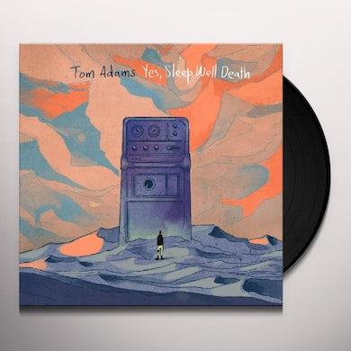 Tom Adams YES SLEEP WELL DEATH Vinyl Record