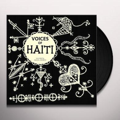 Maya Deren VOICES OF HAITI Vinyl Record