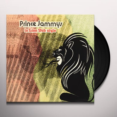 Prince Jammy IN LION DUB STYLE Vinyl Record